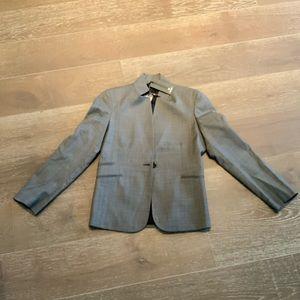 Zanella black gray Rhea blazer NWT Sz 4